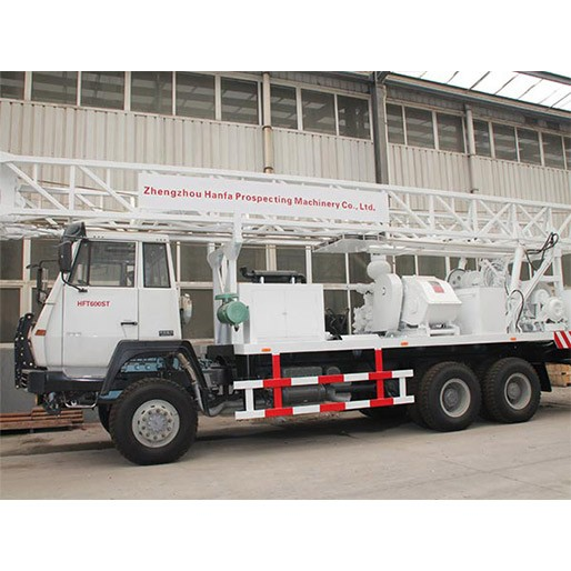 HFT600ST Truck Mounted Water Drilling Rig