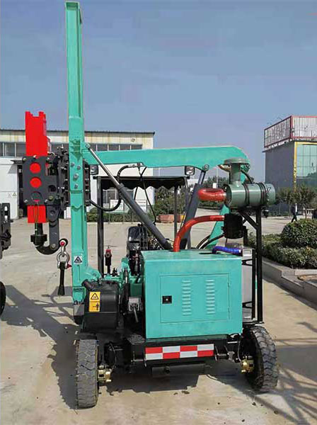 HFLQ330/360 Hydraulic Pile Driver