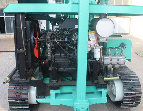 HF130Y-Photovoltaic-Drill-Rig