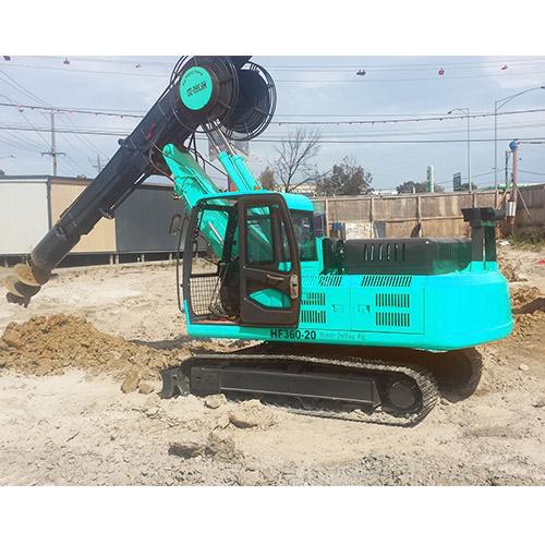 HF360-25 crawler rotary drilling rig
