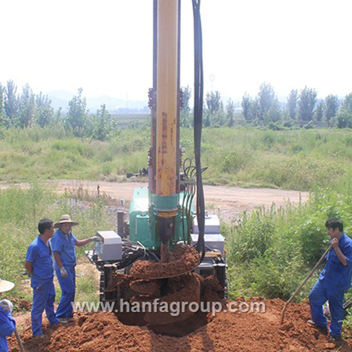 HF160Y multi-functional drilling rig