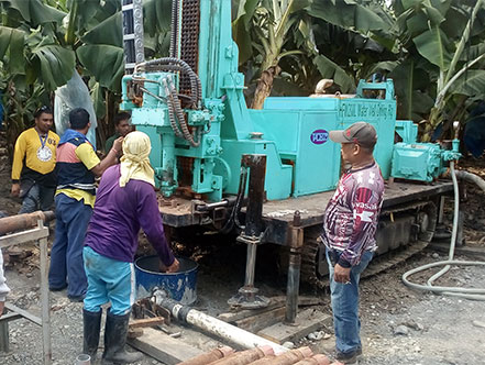 HFW-L series water well drilling rig