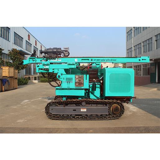 HF395Y Solar Piling Machine