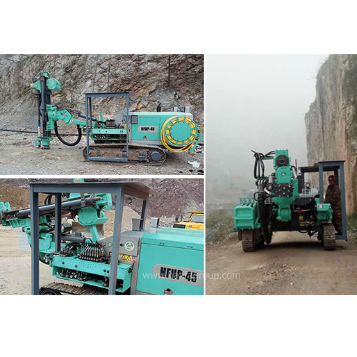 HFUP45 Underground DTH Drilling Rig