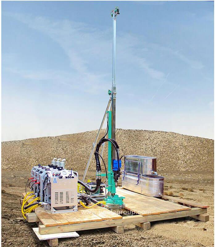 portable core drilling rig