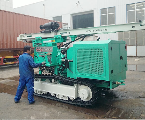 HFPV-1 Photovoltaic Pile Driver