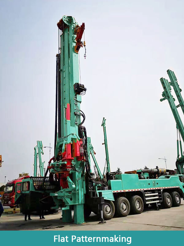 HFSZJ Series Vehicle-mounted Drilling Rig
