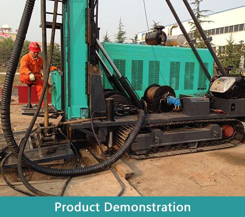 HFDX-6 Full Hydraulic Drilling Rig