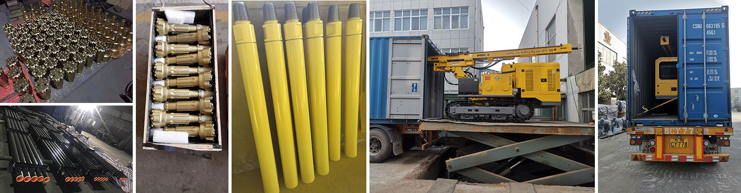 HFPV-1A Photovoltaic Solar Pile Drilling Rig