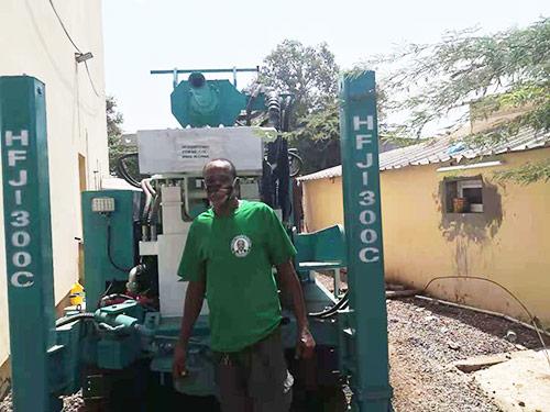 HFJ300C water well drilling rig